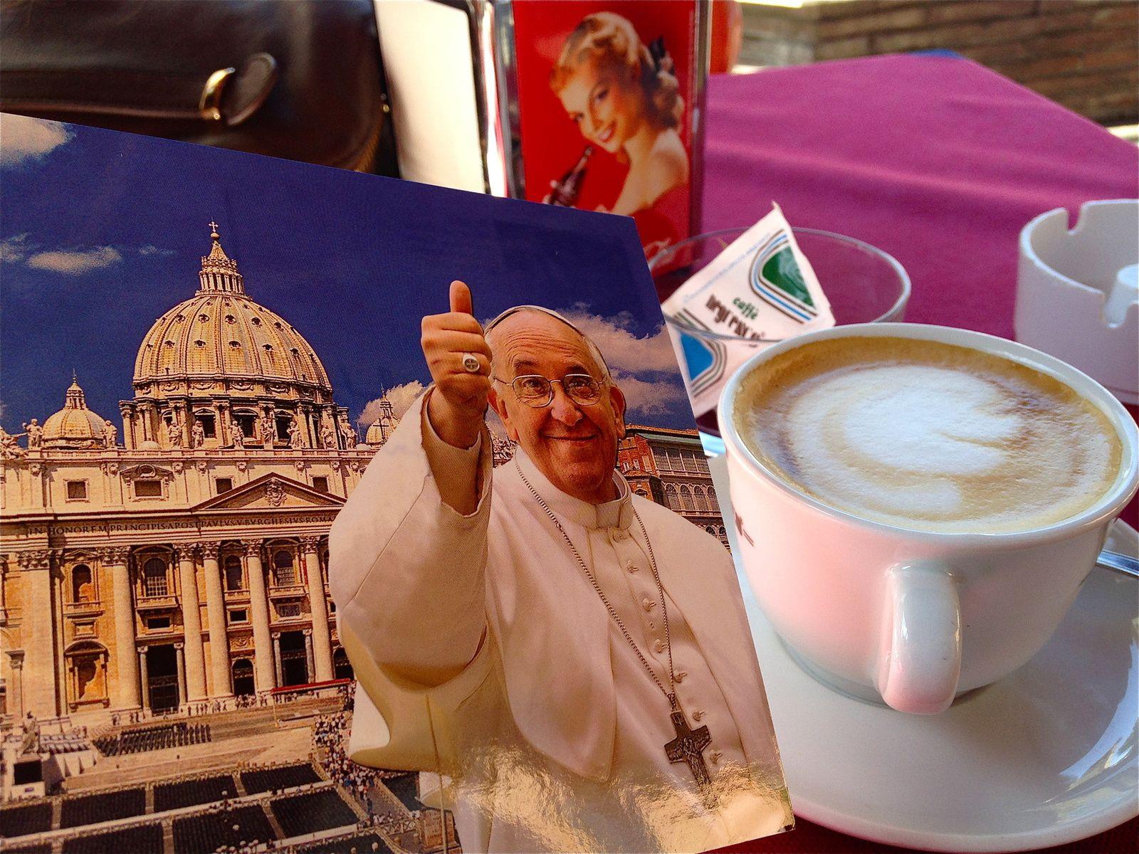 Cappuccino Papa!