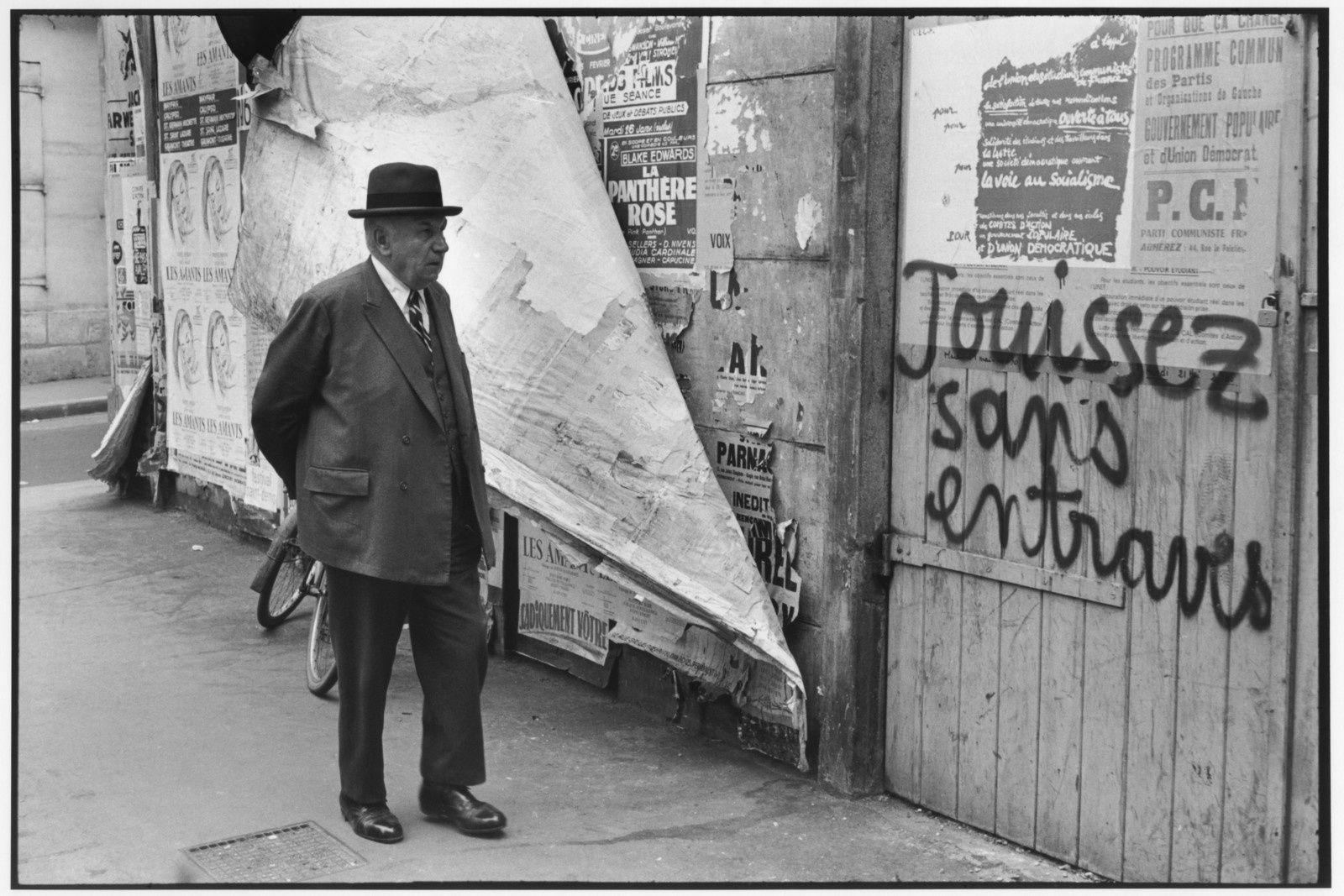 Rue de Vaugirard, 1968