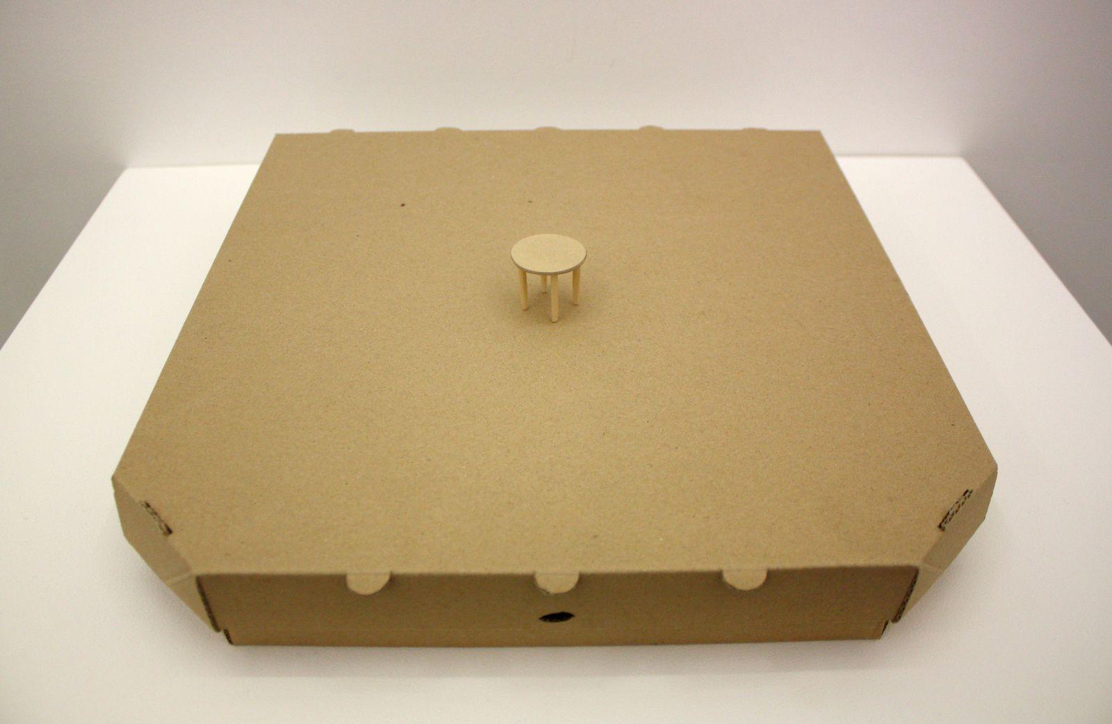 Pizza 1 personne, 2012