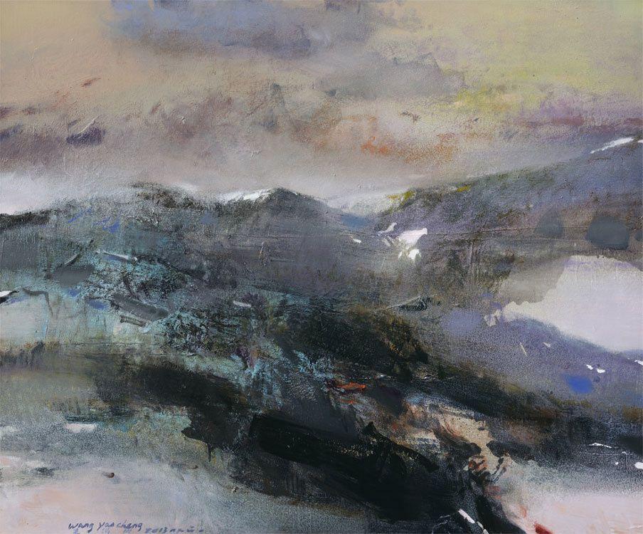 """Expo Peinture Contemporaine: Wang Yan Cheng """"Peintures récentes"""""""