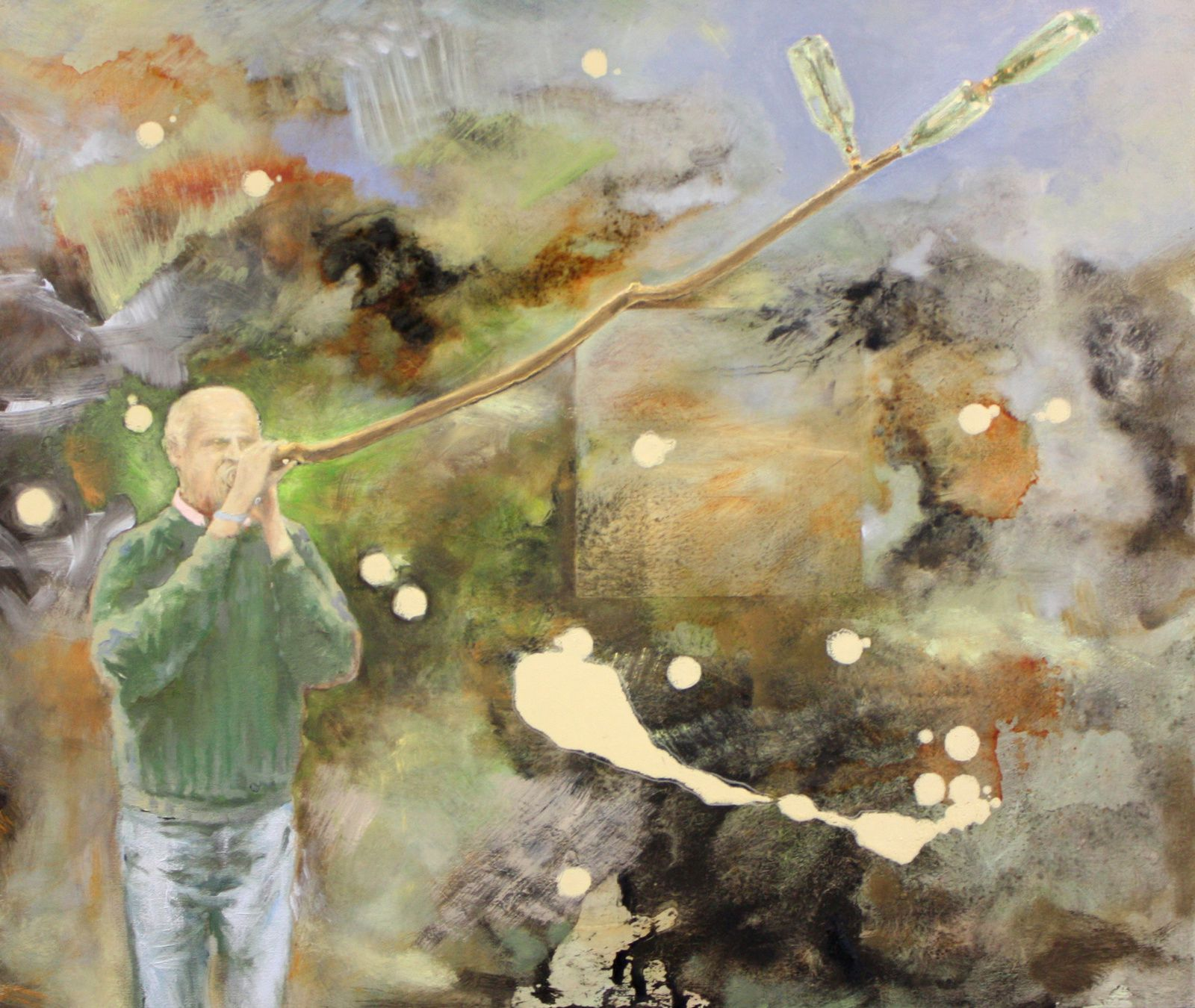 Exposition Peinture Contemporaine Bruno Perramant Le Ma Tre Des