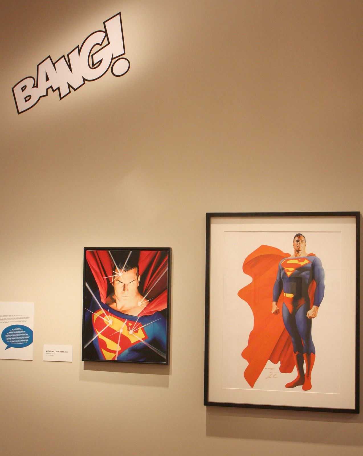 Expo Illustration Contemporaine: Alex ROSS : « SUPER-HEROS »