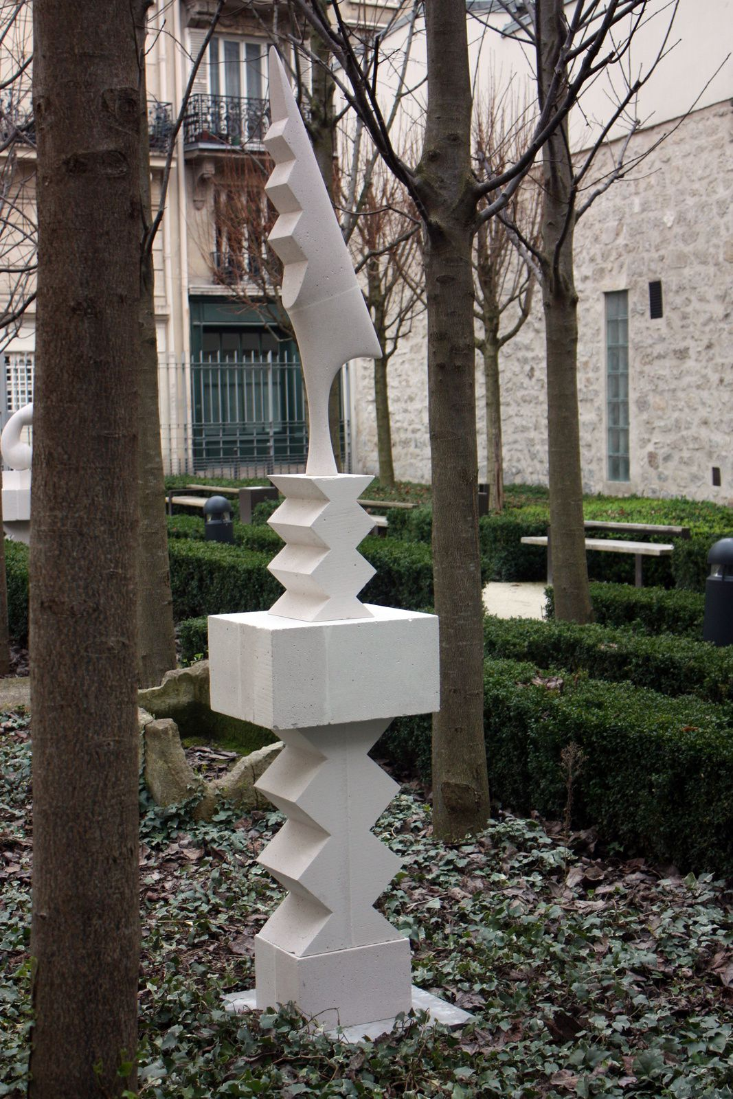 Hommage à  Constantin BRANCUSI de Stéphane VIGNY
