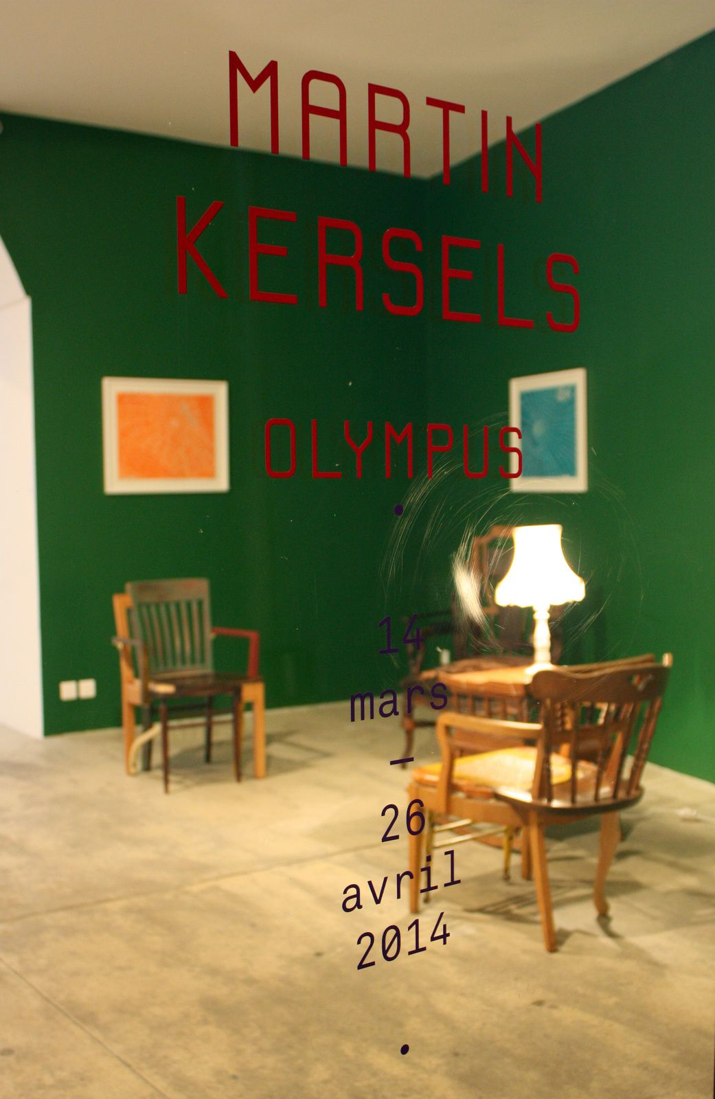 Expo Solo Show: Martin KERSELS &quot&#x3B;Olympus&quot&#x3B;