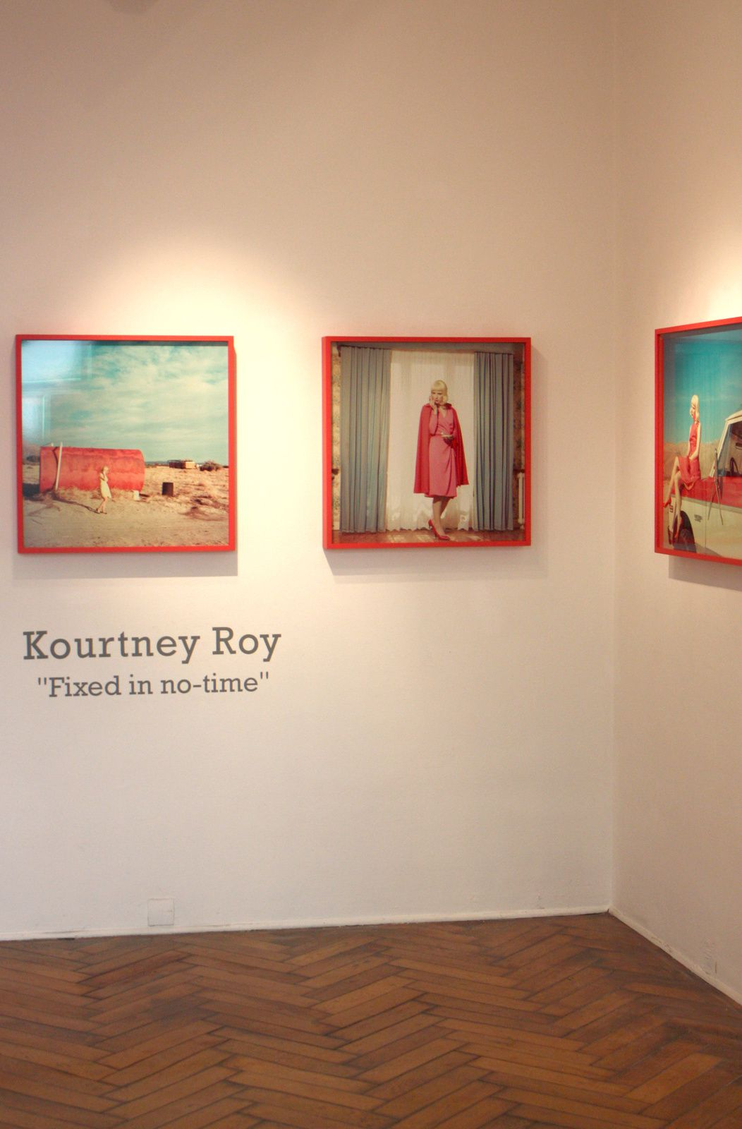 "Expo Photographie contemporaine: Kourtney ROY ""Fixed in No-Time"""