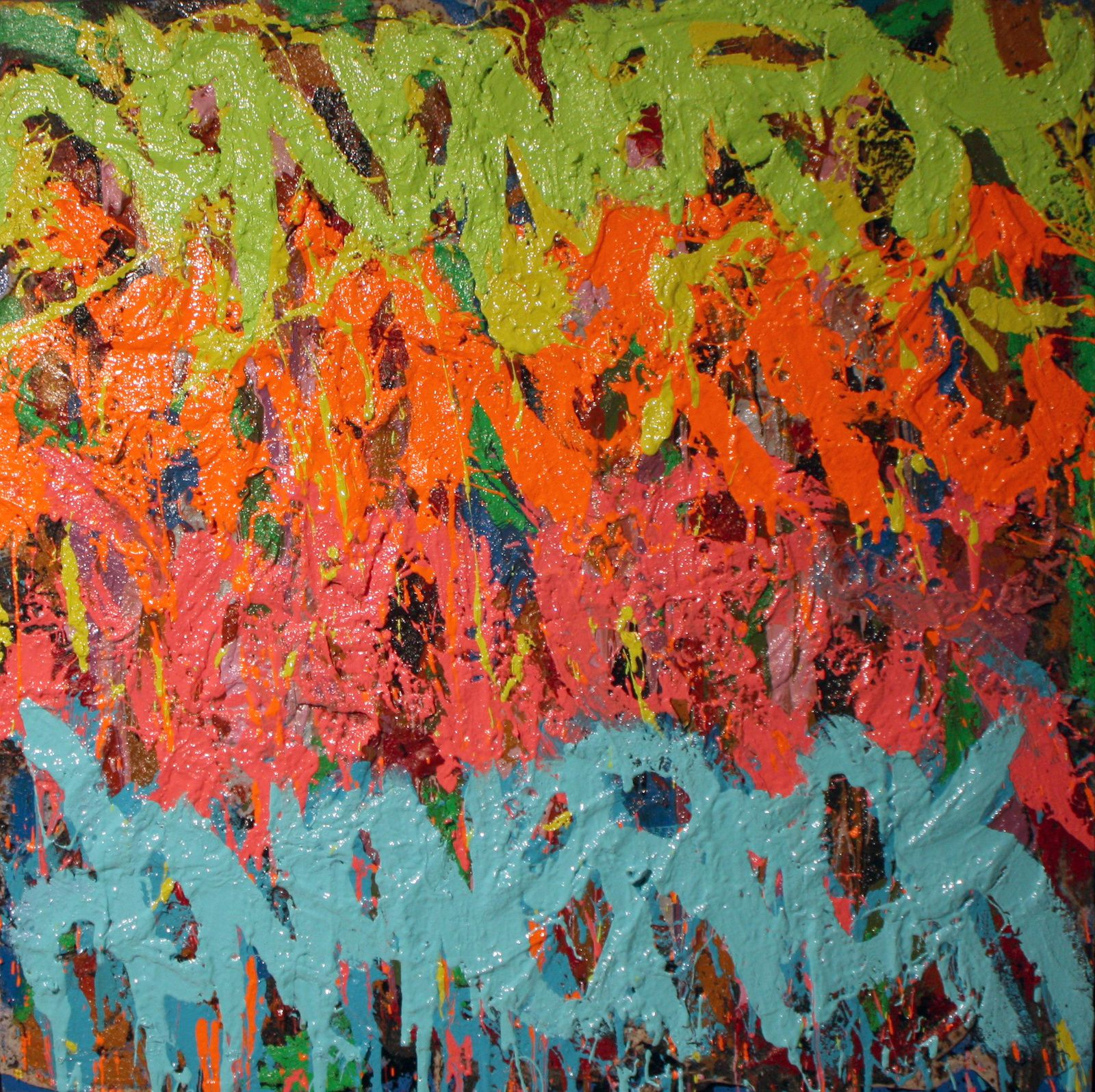 "Expo Peinture Contemporaine: JonOne ""Evolution to Oils"""