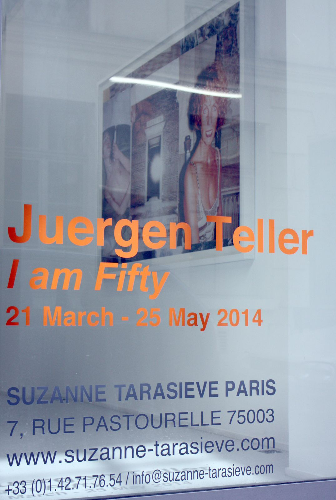 "Expo Photographie contemporaine: Juergen TELLER  ""I am Fifty"""