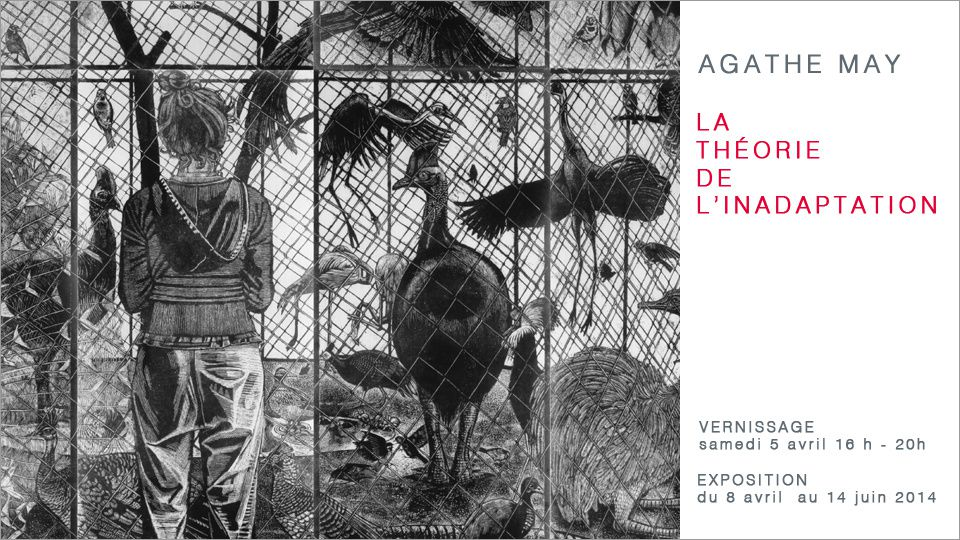 "Expo Dessin Contemporain: Agathe MAY ""La théorie de l'inadaptation"""