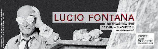 Expo Rétrospective Contemporaine: Lucio Fontana