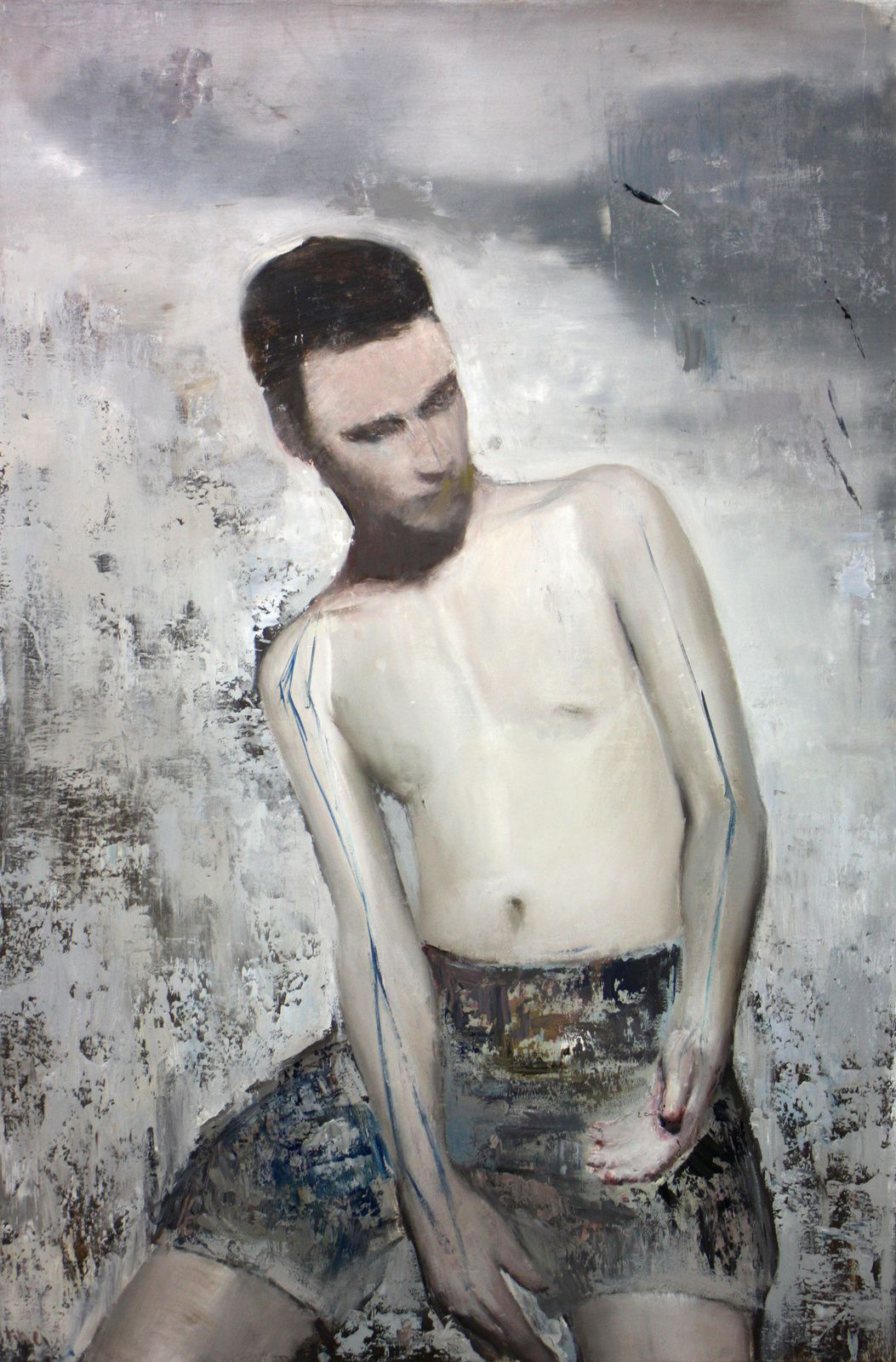 Portrait of a young man, 2014
