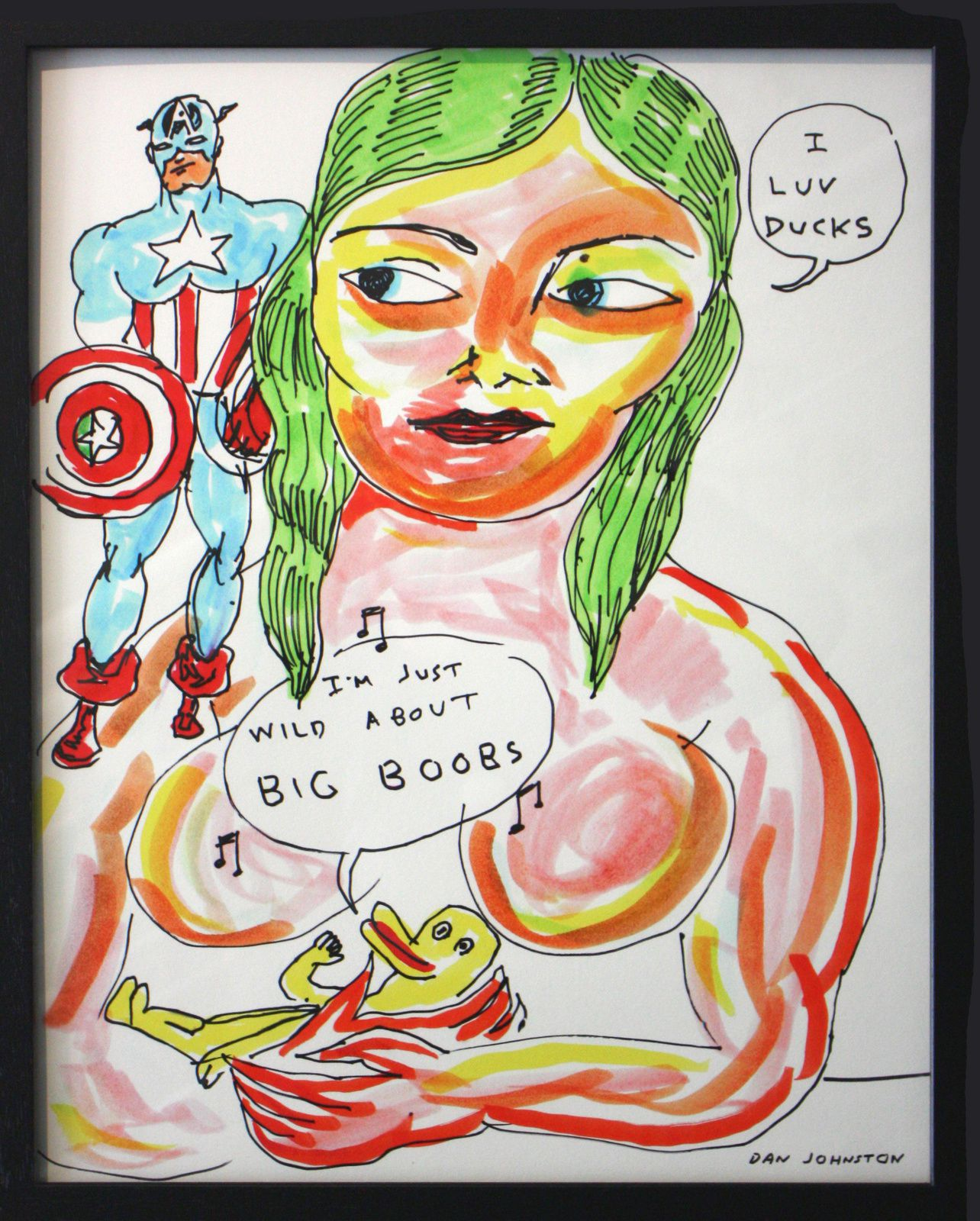 Expo Illustration Contemporaine: Daniel JOHNSTON &quot&#x3B;welcome to my world !&quot&#x3B;