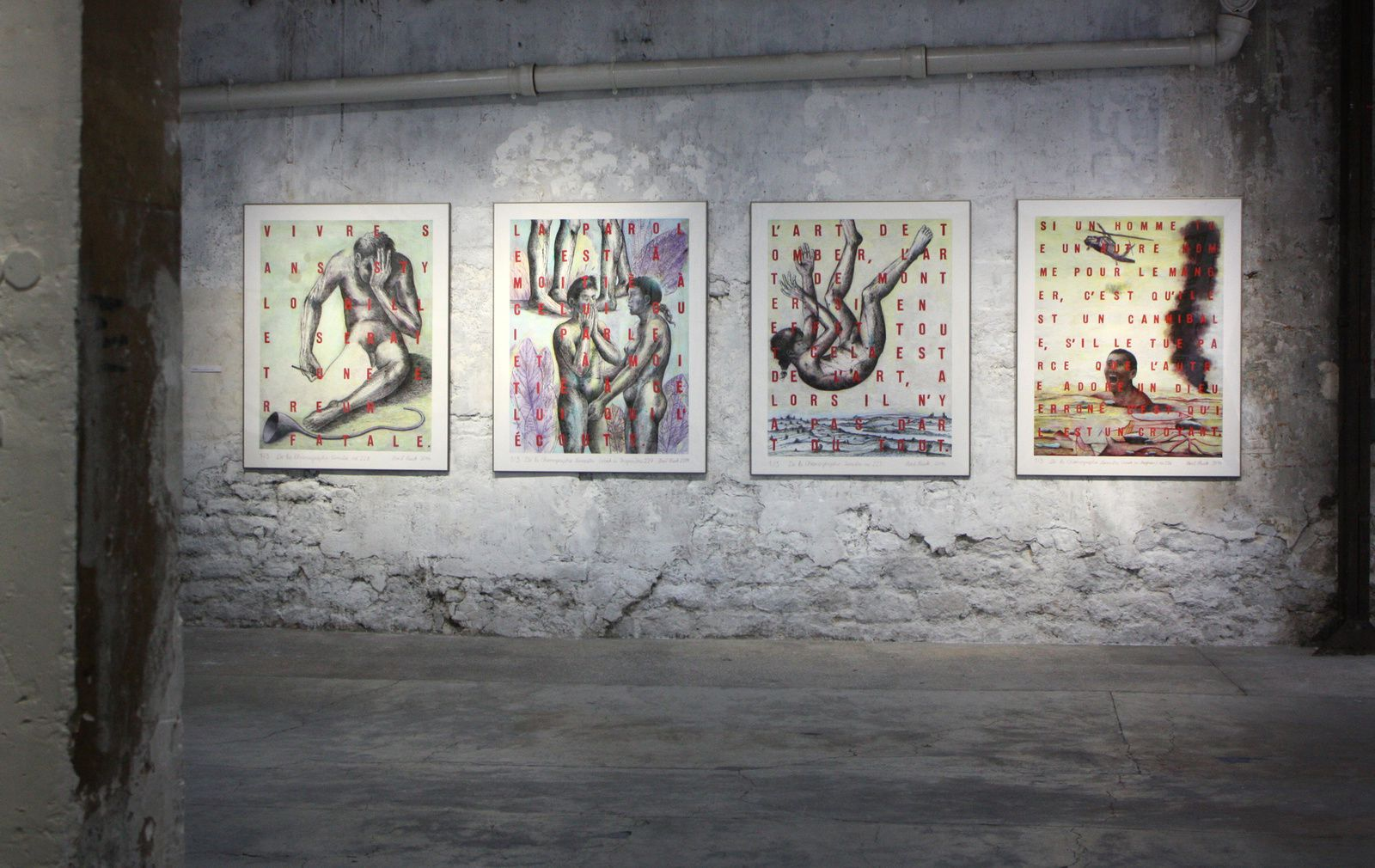 Chronographie terrestre, 2014 de Horst HAACK