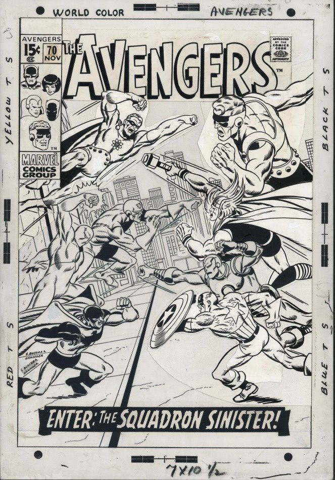 Sal BUSCEMA and Sam GRAINGER