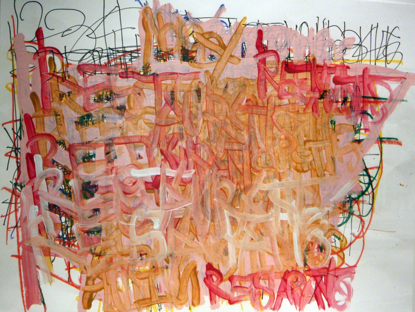 "Expo Peinture Contemporaine: Dan Miller ""Graphein II"""