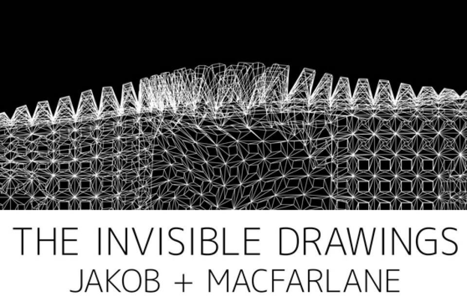 "Expo Collective Contemporaine: Jakob+MacFarlane  ""The Invisible Drawings"""
