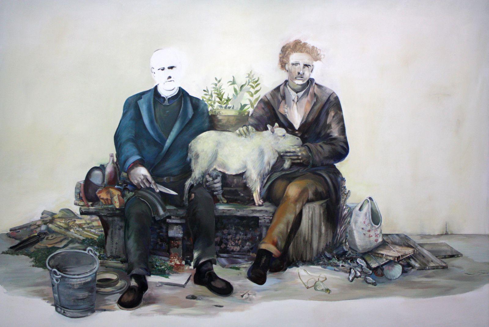 Les deux poètes, 1991