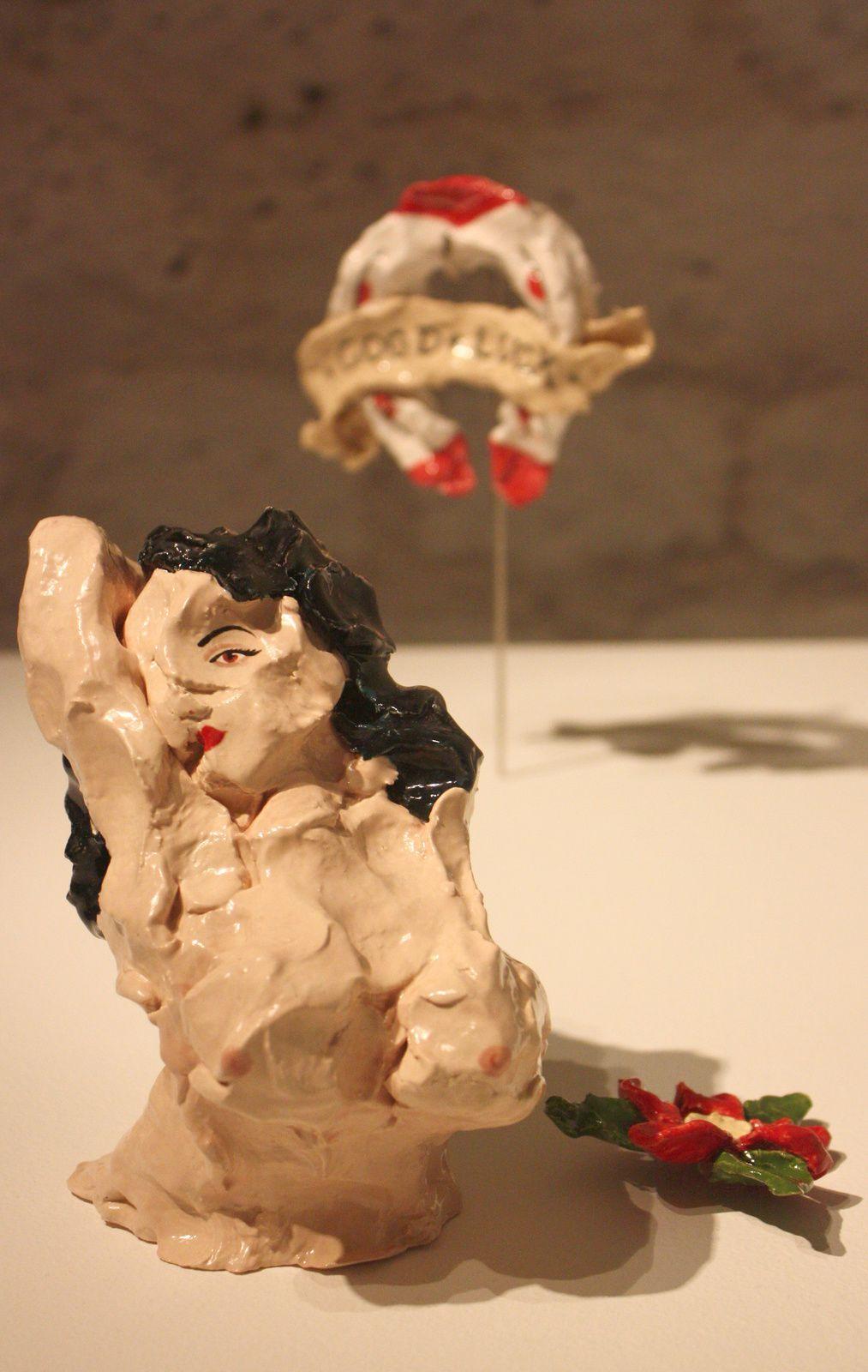 "Expo Sculpture Contemporaine: Jessica  HARRISON  ""FLASH"""