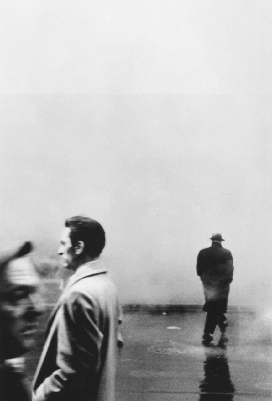 Three Men, New York, 1961