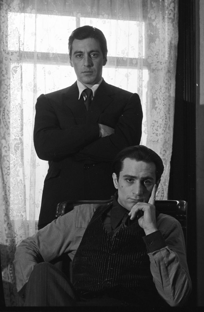 GODFATHER DE NIRO-PACINO