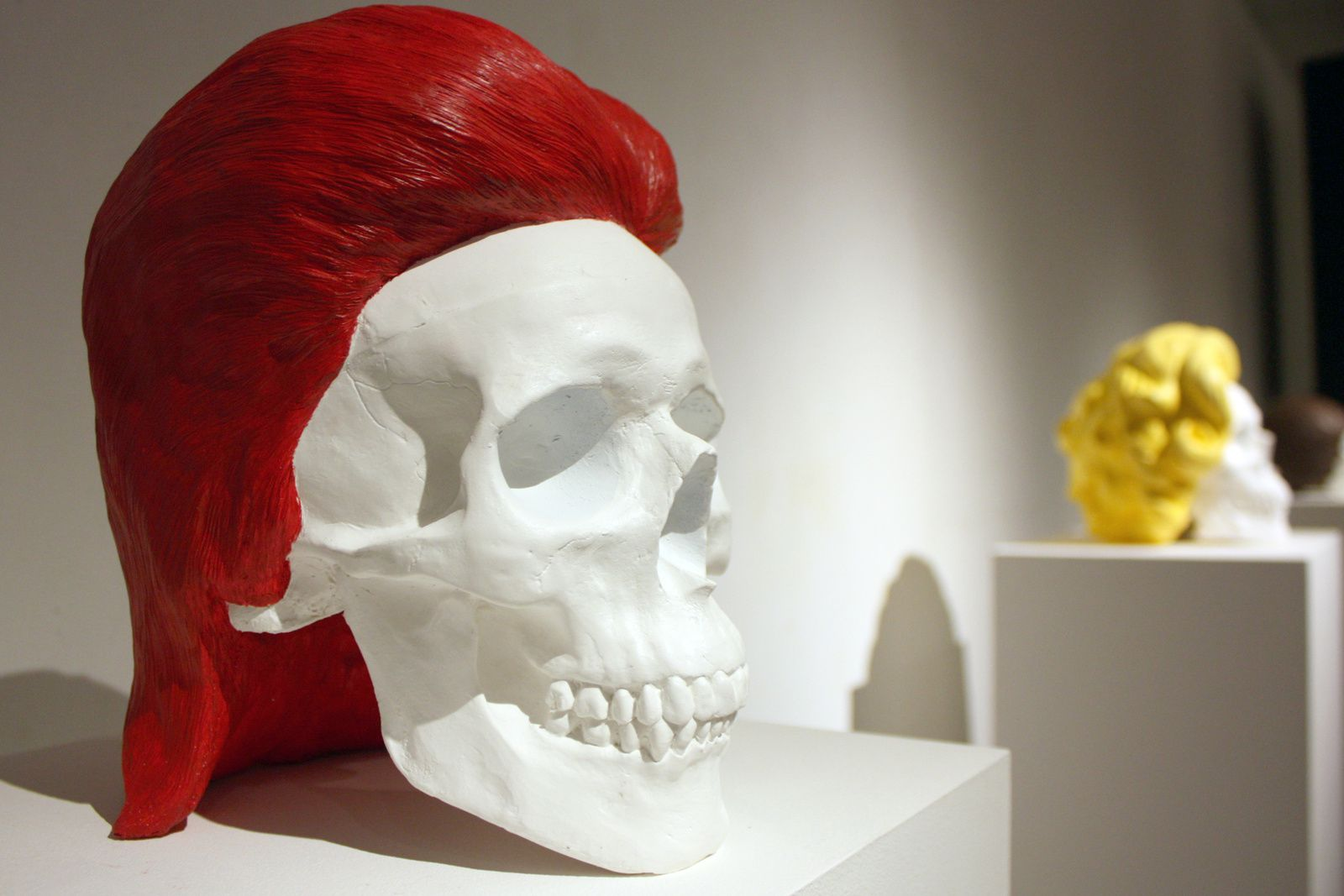 Expo Sculpture Contemporaine: Jacques DE OLIVEIRA CÉZAR  « SKULLPTURE »