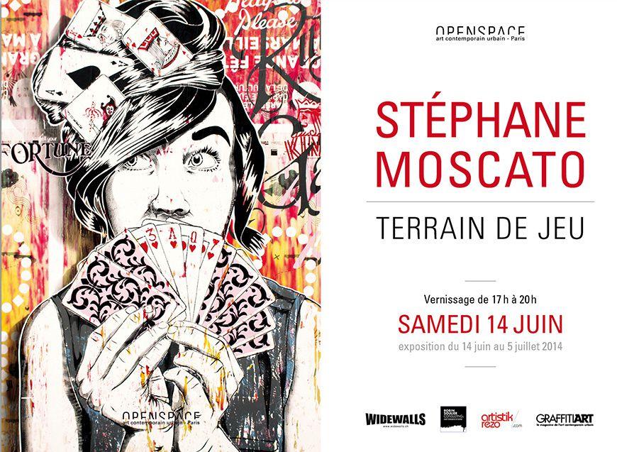 Expo Street Art: Stéphane MOSCATO STF « TERRAIN DE JEU »
