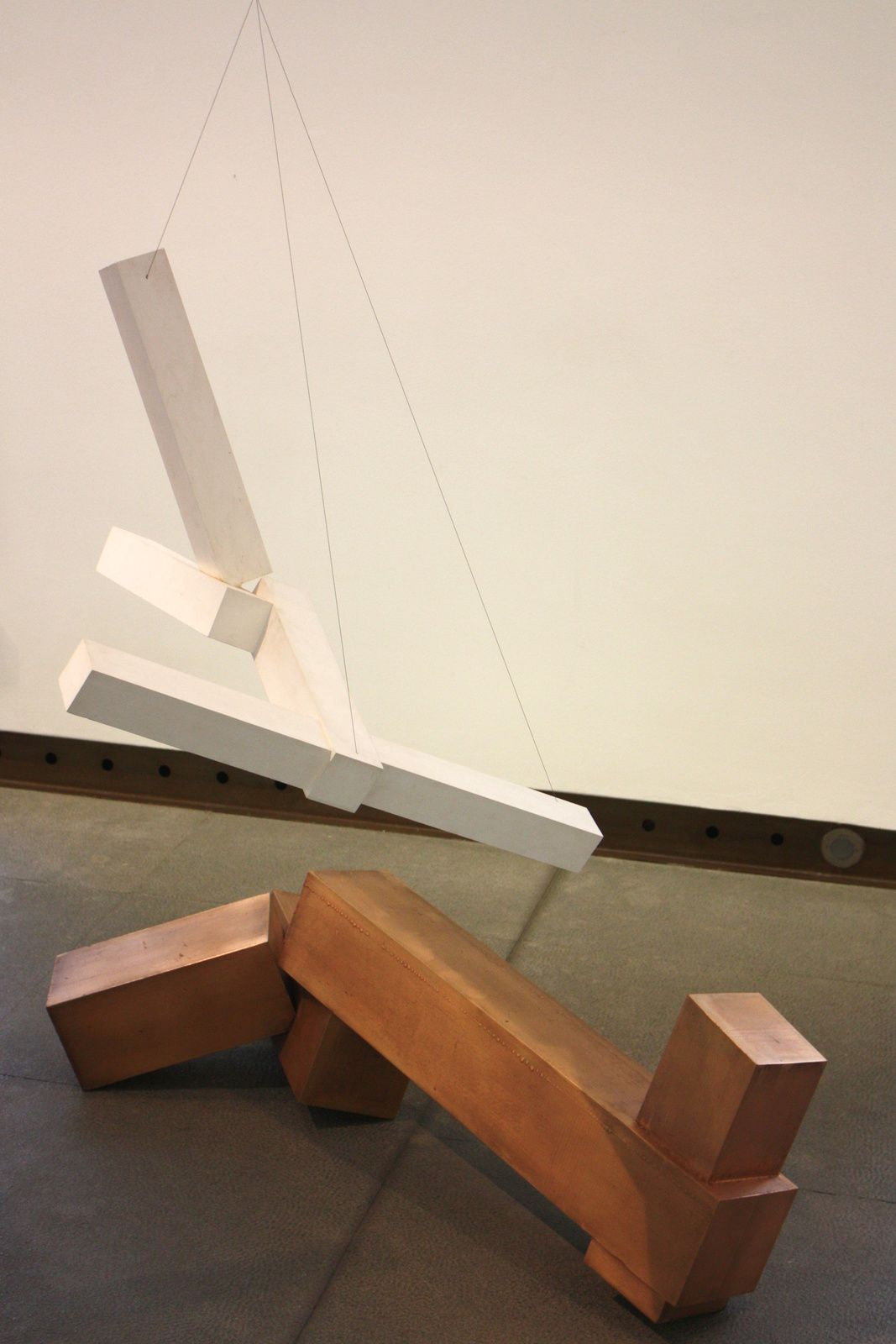 """Sans titre"", 2001-2002 de Joël SHAPIRO Courtesy Galerie Karsten Greve Paris"