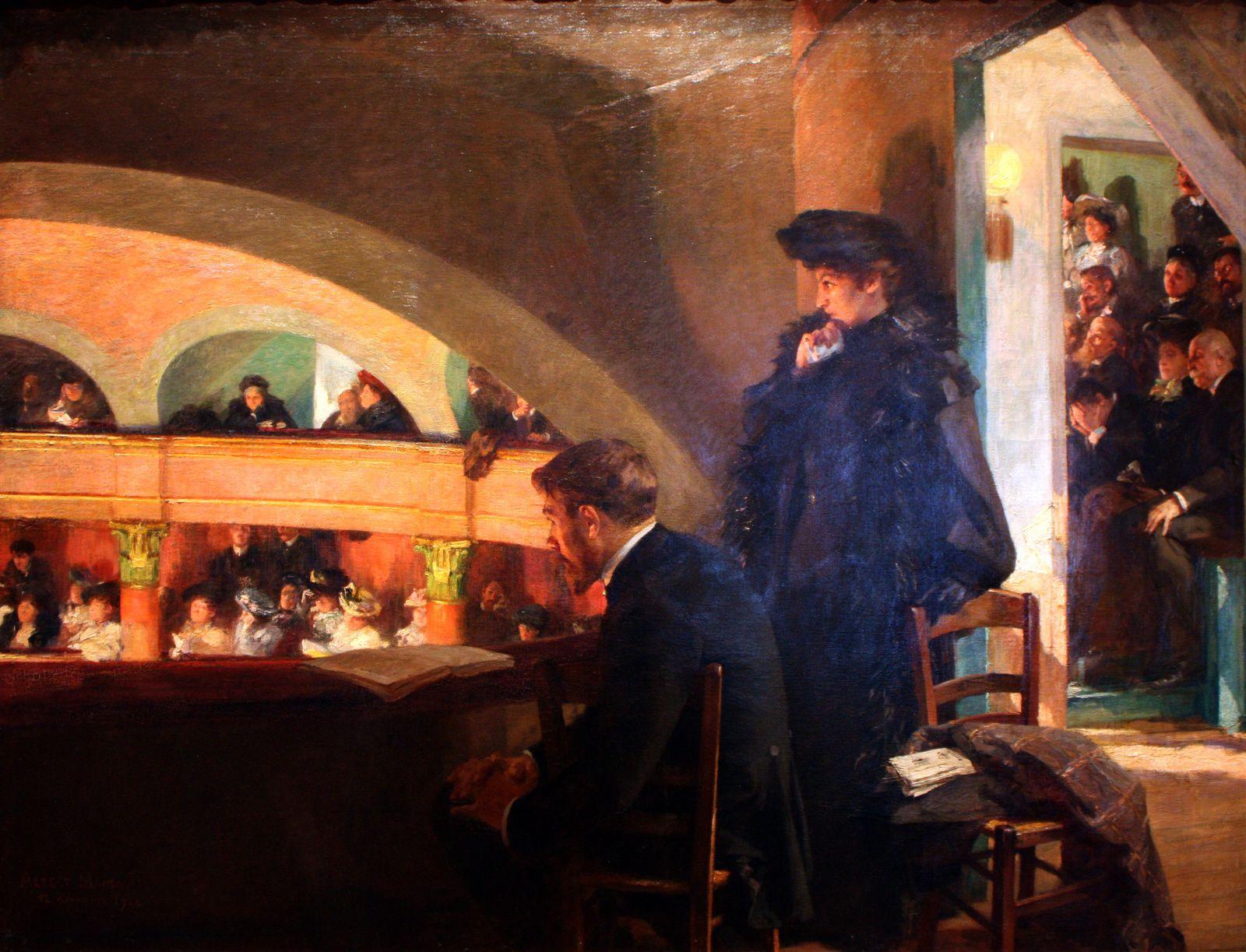 """Adagio - Appassionato"", 1905 d'Albert MAIGNAN"