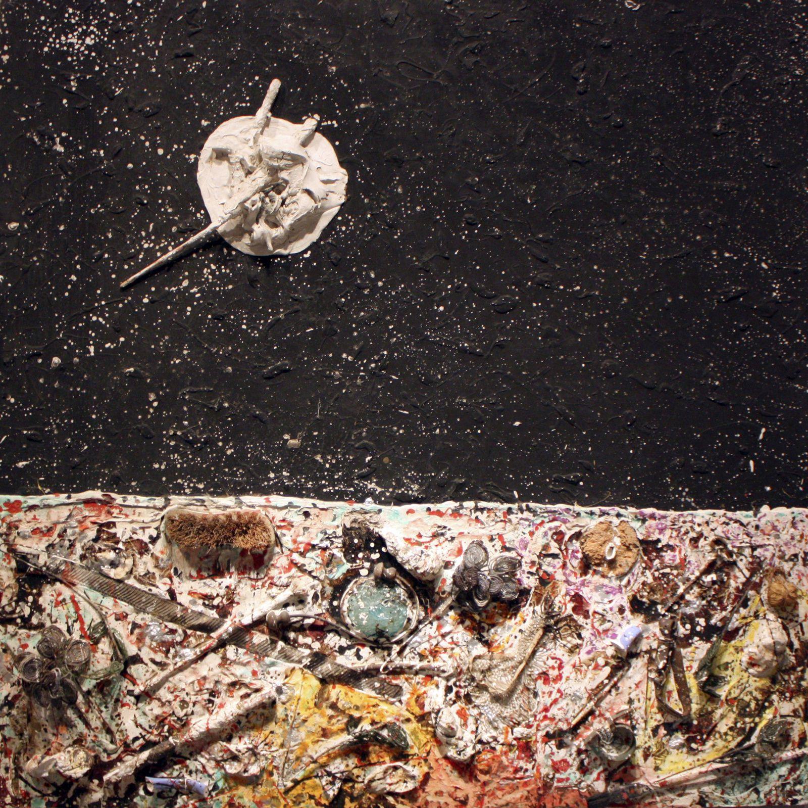 """""""Assemblage Landscape"""", 1959 de Niki de Saint Phalle"""