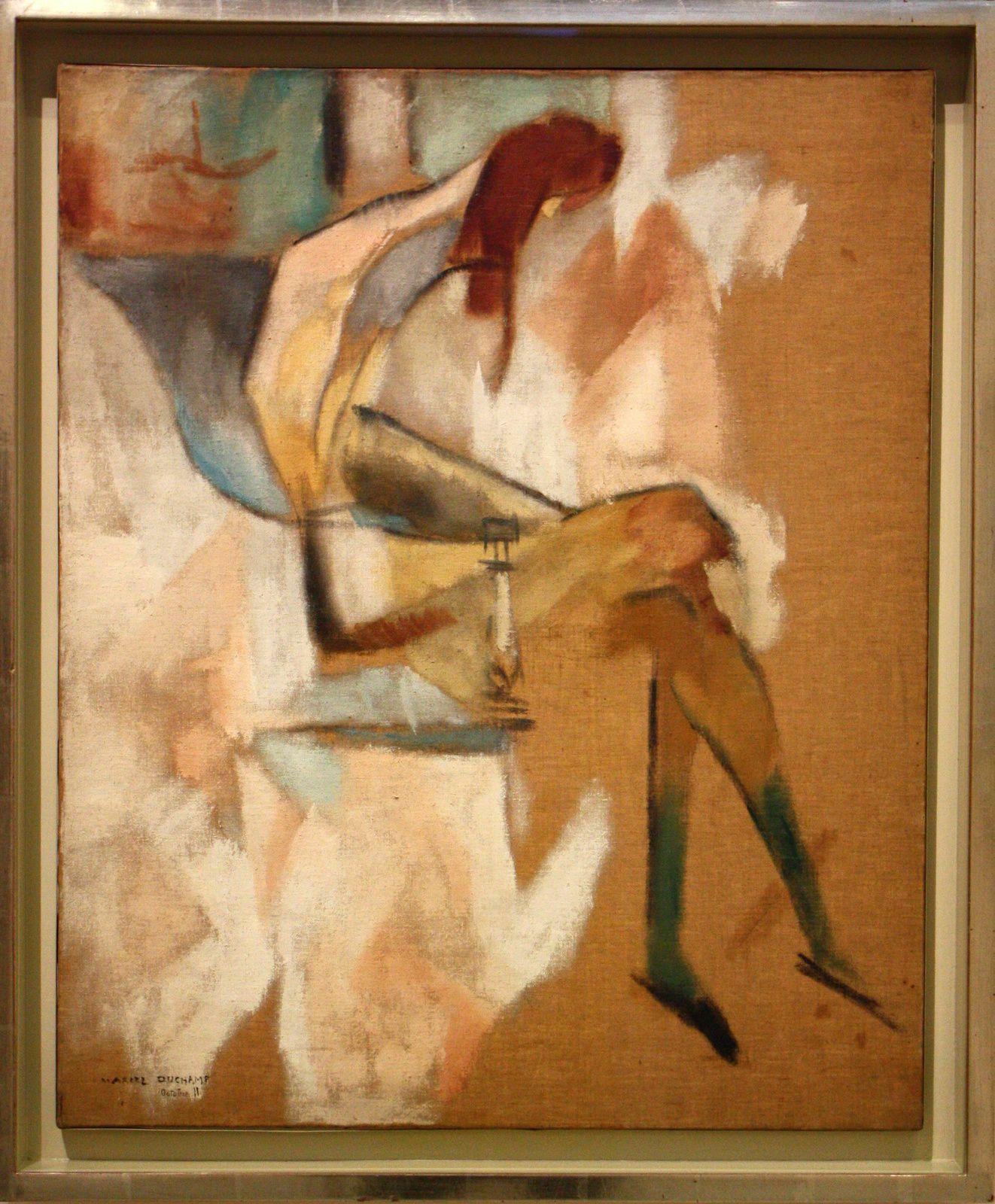 """""""A propos de jeune soeur"""", 1911 de Marcel Duchamp"""