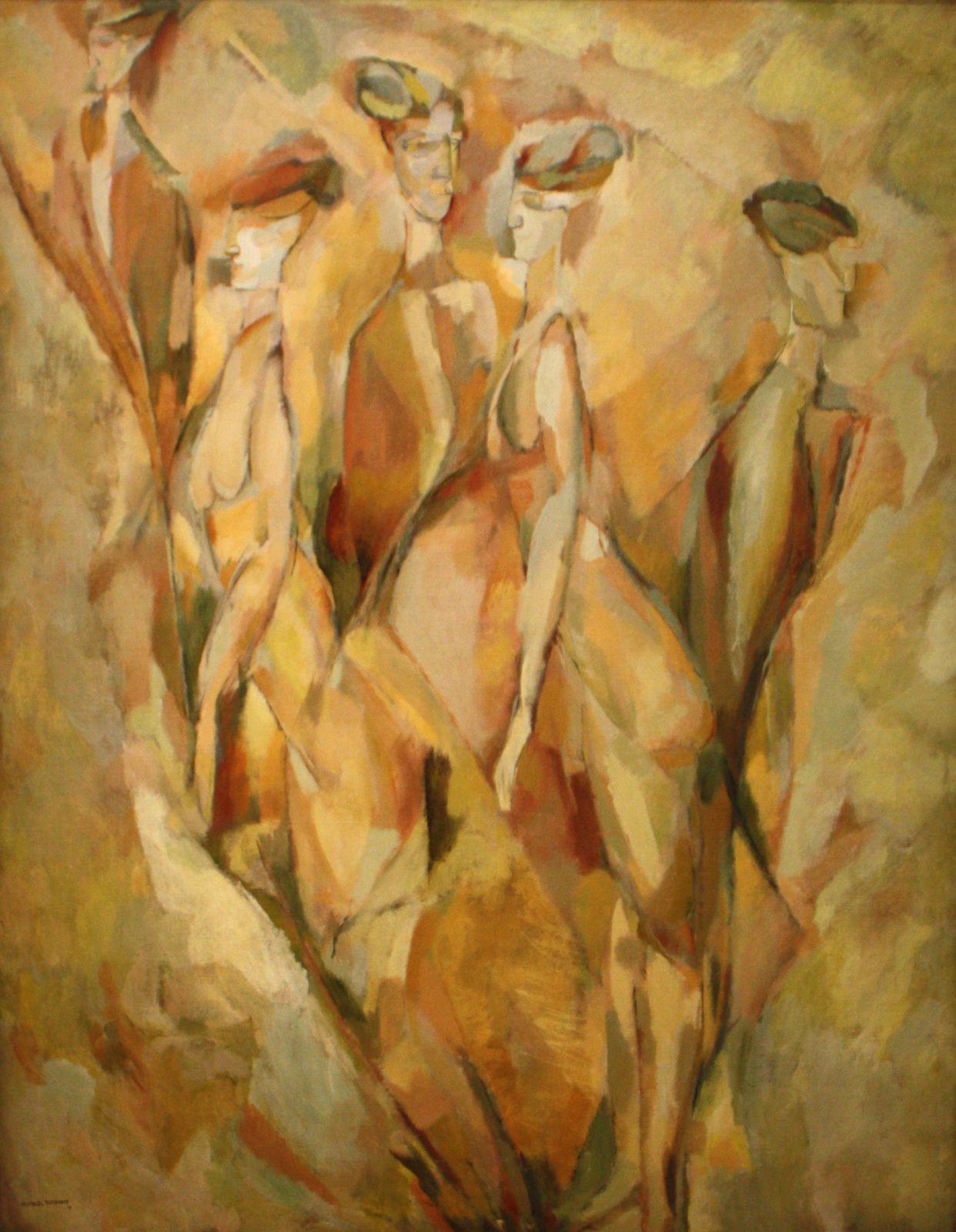 """""""Dulcinée"""", 1911 de Marcel Duchamp"""