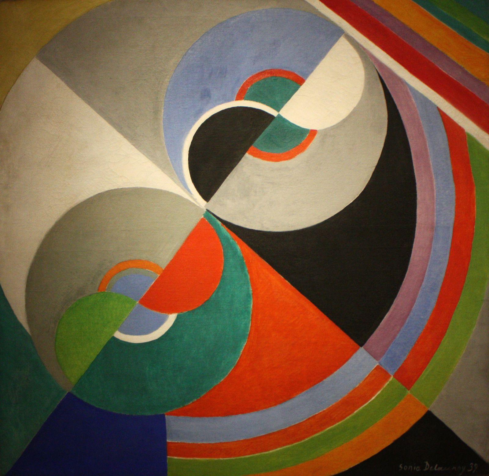 """Rythme couleur, N° 1076"", 1939 de Sonia Delaunay"