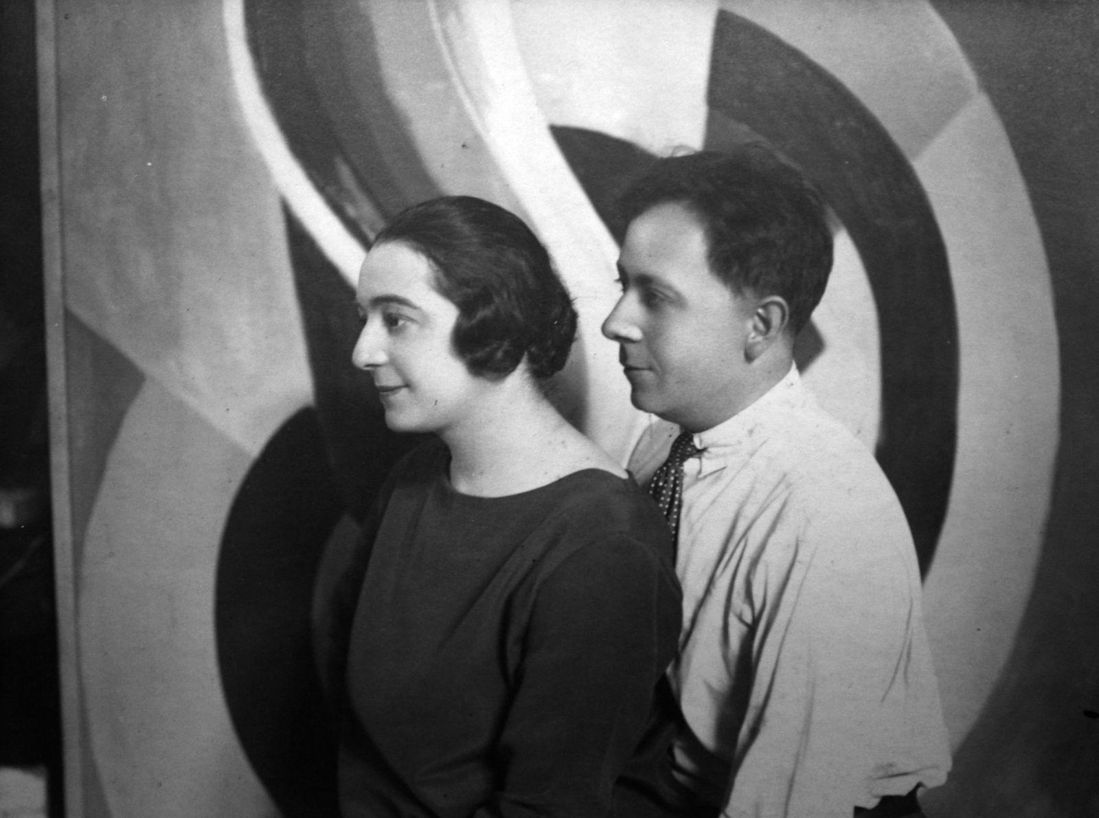 Portrait de Sonia et Robert Delaunay