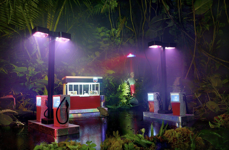 """""""Série Gas Station"""" de David LaCapelle © Galerie Daniel Templon"""