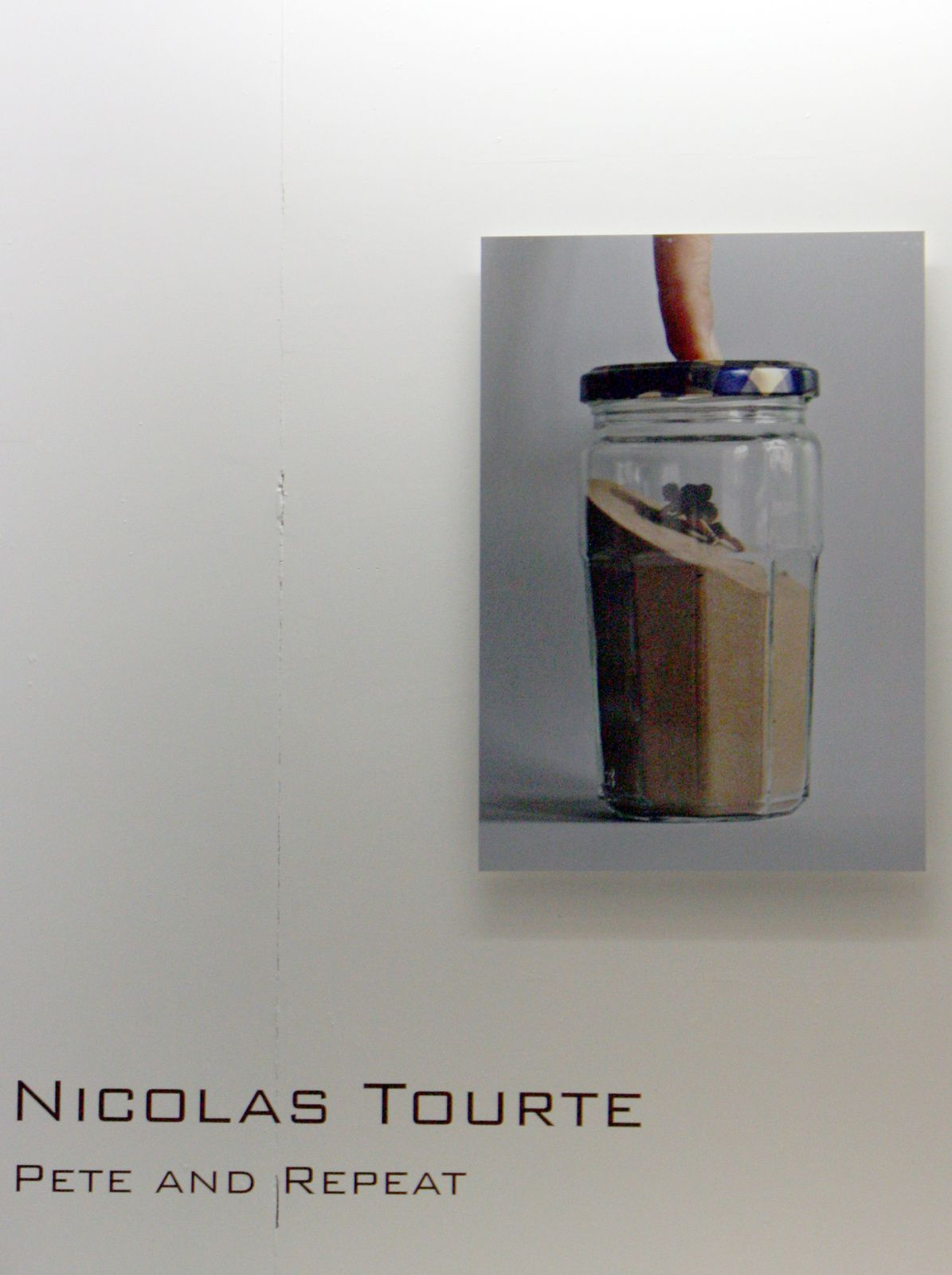Expo Solo Show: Nicolas TOURTE « Pete and Repeat »