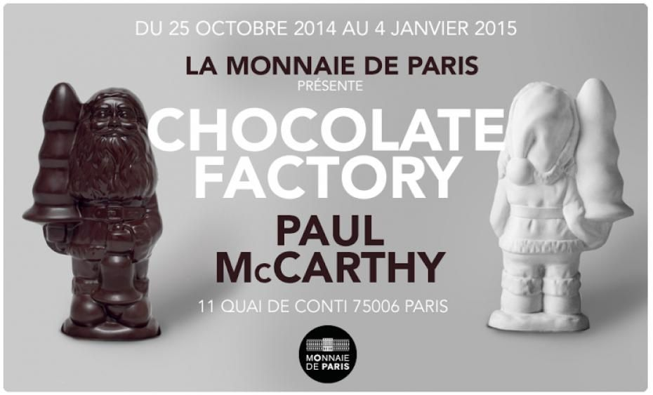 Expo Solo Show: Paul McCarthy &quot&#x3B;Chocolate Factory&quot&#x3B;