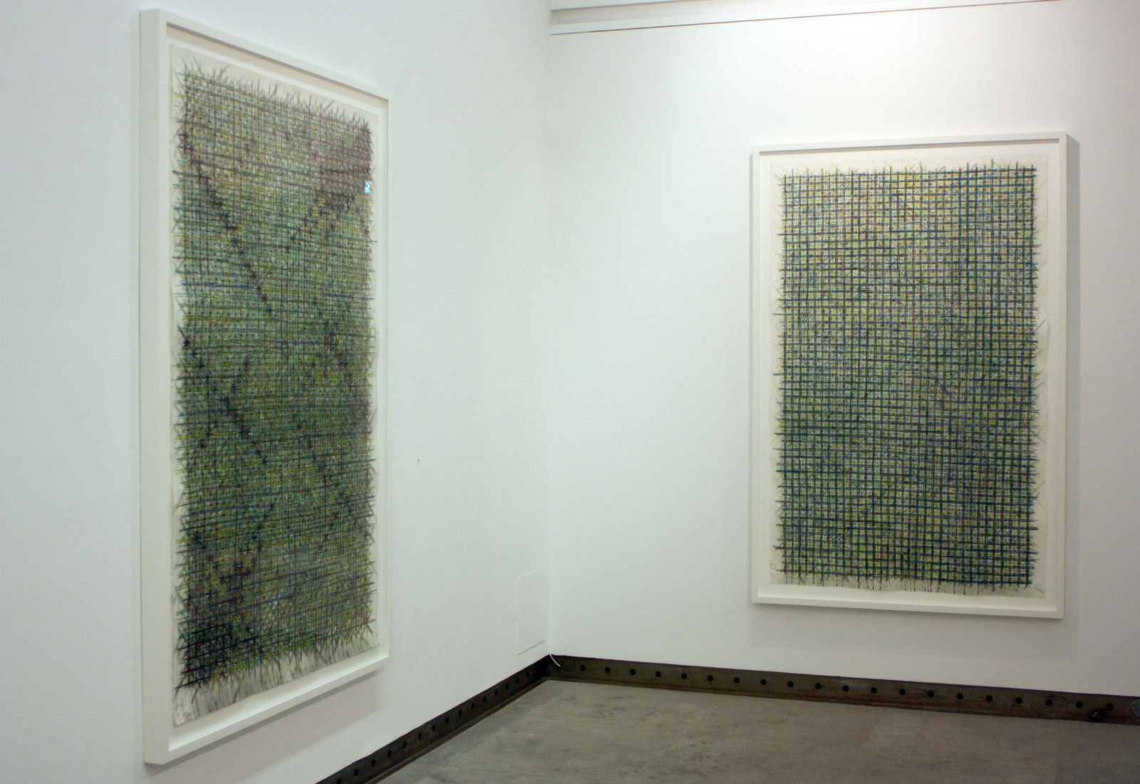 """Appearance of crosses"", 2014 de Ding Yi"