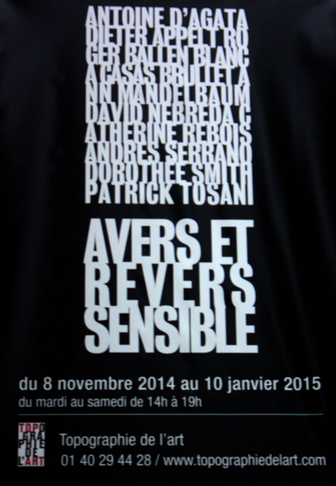 Expo Collective Contemporaine: Avers et revers sensible