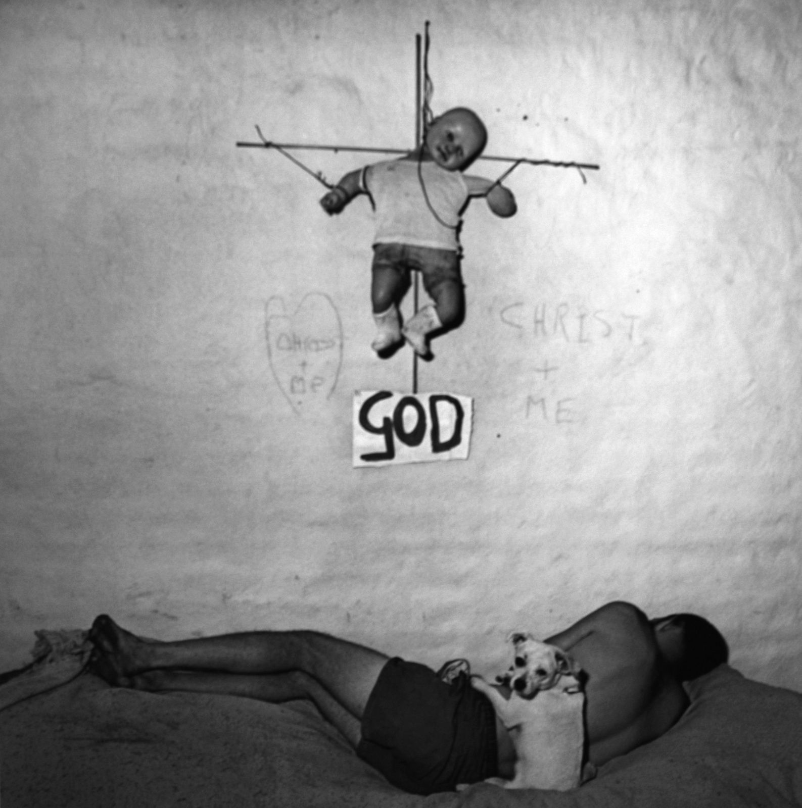 """Matamorphosis"", 2006 de Roger Ballen © Photo Éric Simon"