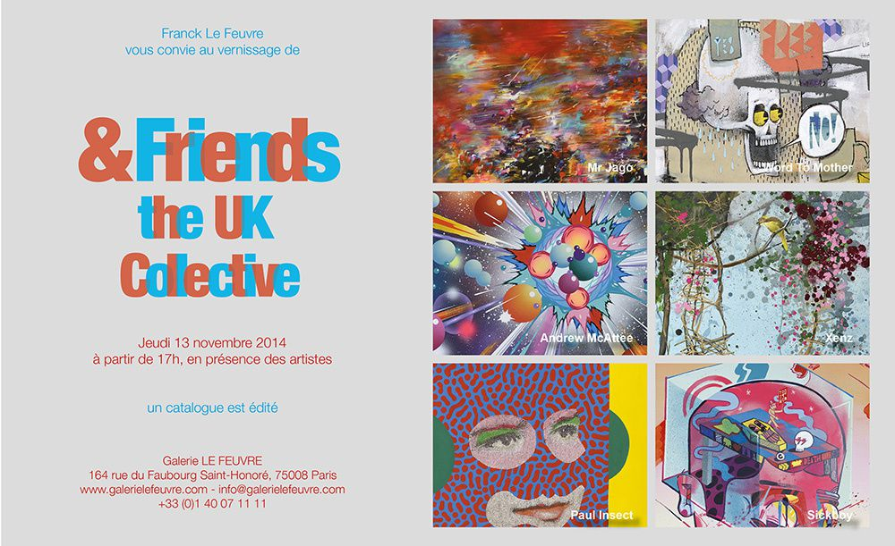 Expo Collective Contemporaine: &Friends Collective the UK