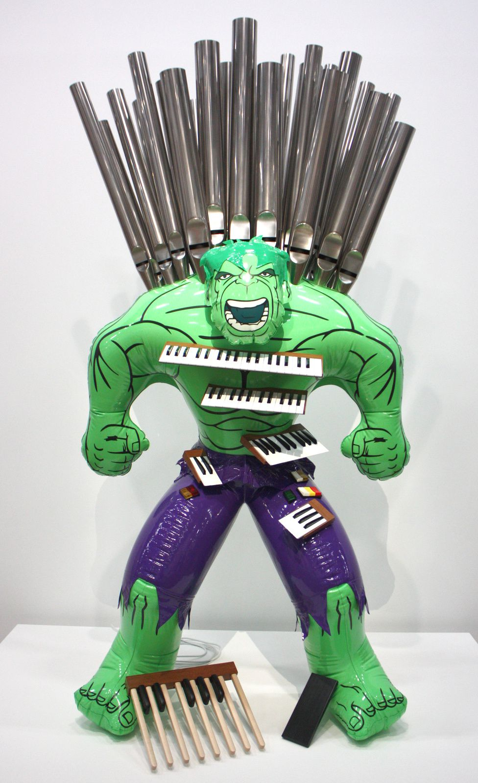 """Hulk (Organ)"", 2004-2014 de Jeff Koons © Photo Éric Simon"