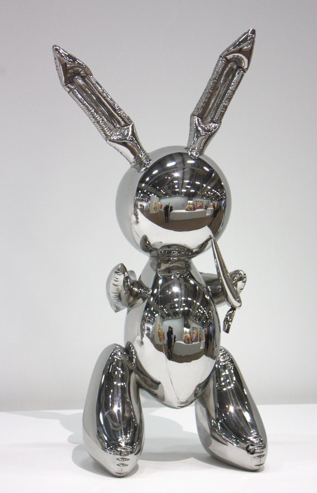 """Rabbit"", 1986 de Jeff Koons © Photo Éric Simon"