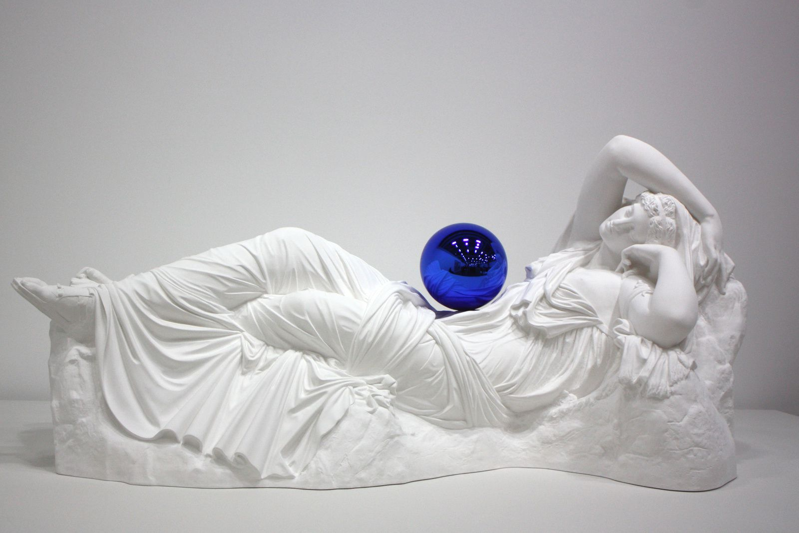 """Gazing Ball (Ariadne)"", 2013 de Jeff Koons © Photo Éric Simon"