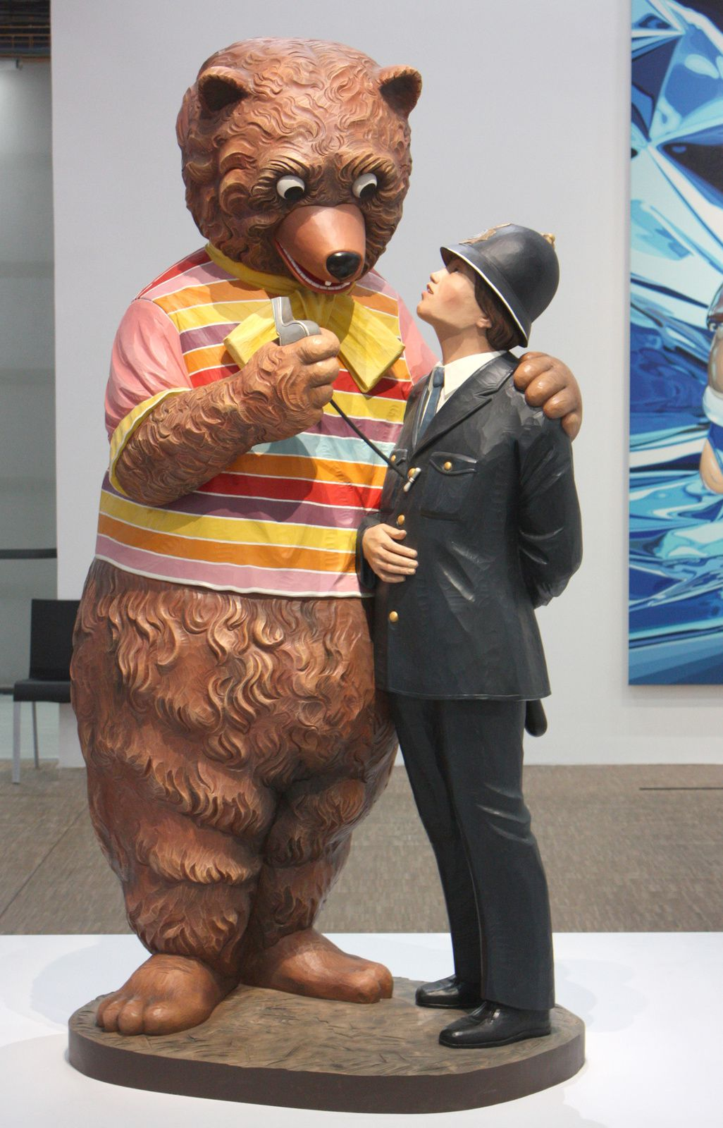 """Bear and Policeman"", 1988"