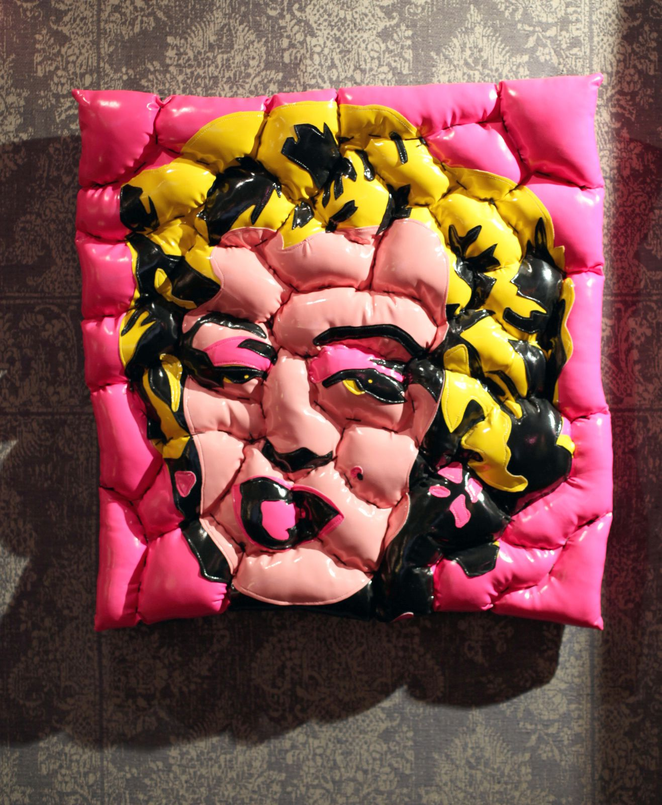 """Marilyn Contaminated by a fat virus"", 2012 de David Gouny Courtesy Galerie Géraldine Banier © Photo  Éric Simon"