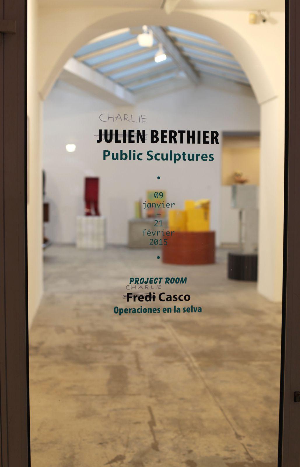Expo Solo Show: Julien BERTHIER &quot&#x3B;Public Sculptures&quot&#x3B;