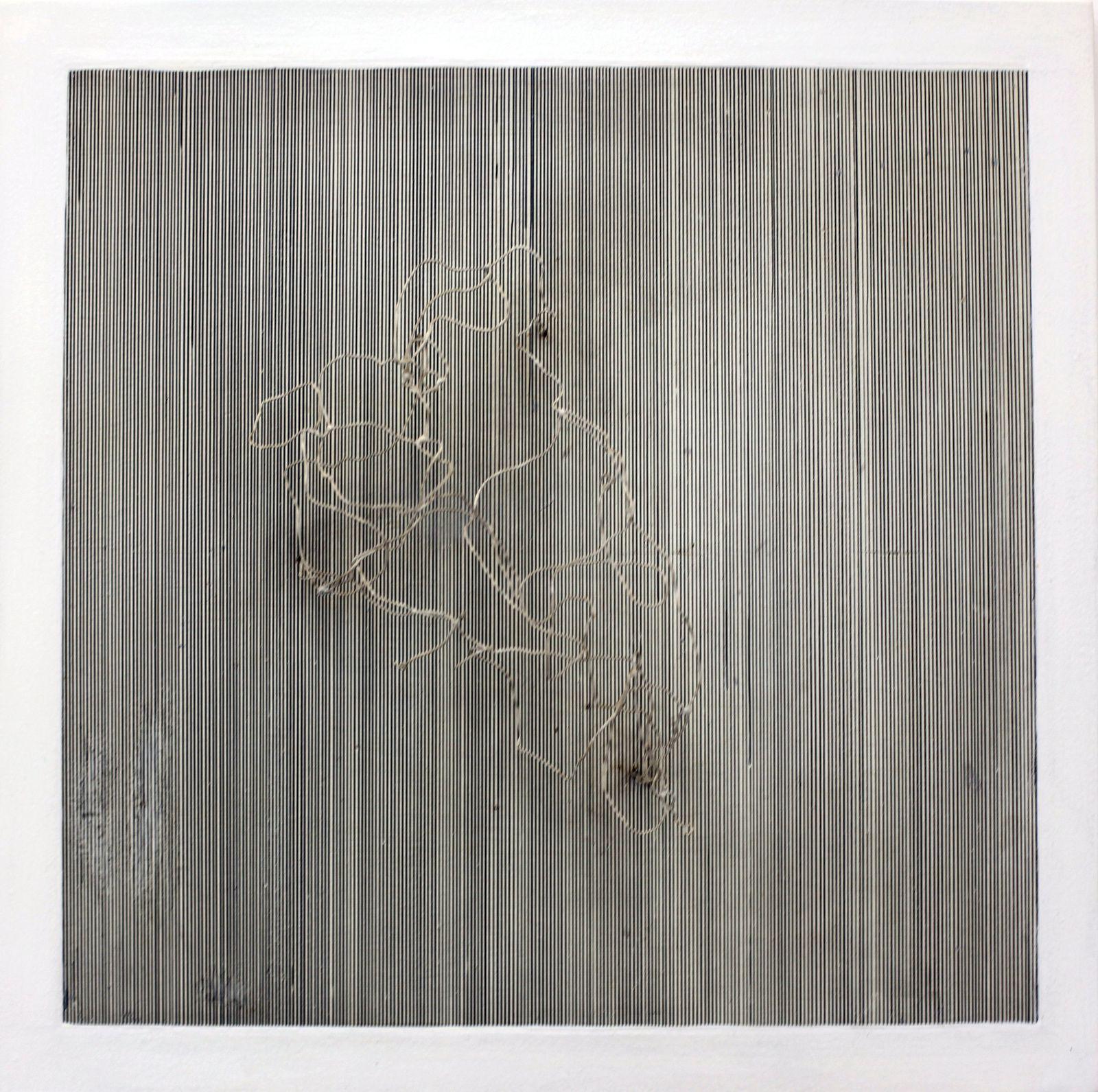 """""""Première vibration"""", 1957 de J.R Soto Courtesy Galerie Perrotin © Photo Éric Simon"""