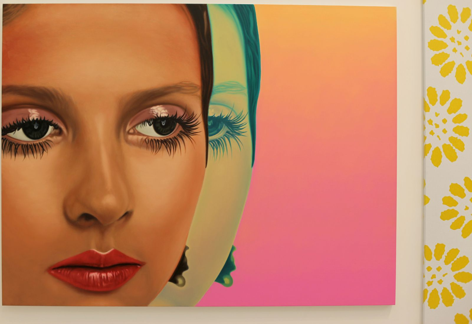 """Ingrid II"", 2013 de Richard Phillips Courtesy Almine Rech Gallery © Photo Éric Simon"