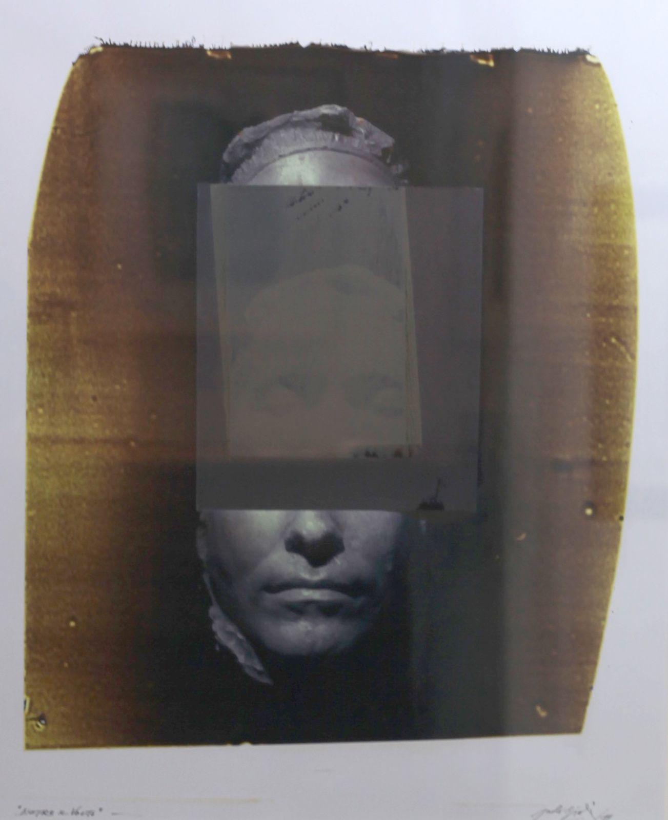 """""""Dietro il volto"""", 2011 de Paolo Giuli Courtesy Galerie Baudoin Lebon"""