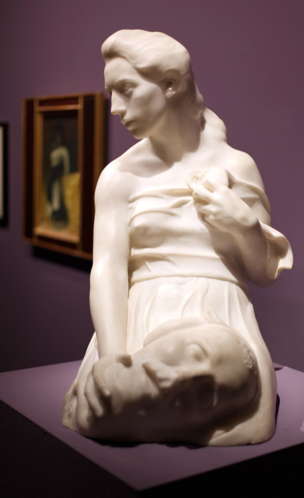 """Judith avec la tête d'holopherne"", 1898 d'Hermann Hahn © Photo Éric Simon"