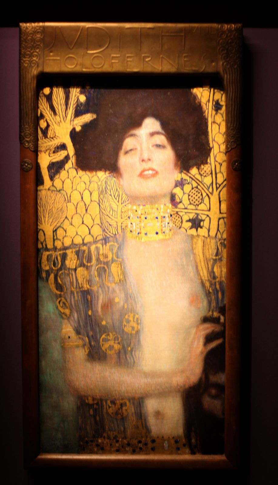 """Judith"", 1901 de Gustav Klimt © Photo Éric Simon"